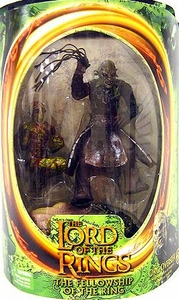 Lord of the Rings Fellowship of the Ring Orc Overseer with Dungeons of Isengard Newborn Uruk-Hai