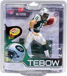 McFarlane Toys NFL Sports Picks Series 30 Action Figure Tim Tebow (New York Jets) Green Jersey