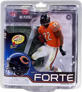 McFarlane Toys NFL Sports Picks Series 30 Action Figure Matt Forte (Chicago Bears) Orange Jersey Collector Level Only 1,000 Made!