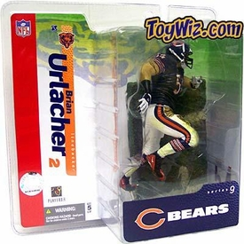 McFarlane Toys NFL Sports Picks Series 9 Action Figure Brian Urlacher (Chicago Bears) Blue Jersey White Pants