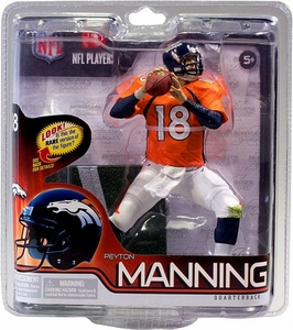 McFarlane Toys NFL Sports Picks Series 30 Action Figure Peyton Manning (Denver Broncos) Orange Jersey