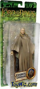 Lord of the Rings Fellowship of the Ring Collectors Series Action Figure Council Legolas BLOWOUT SALE!