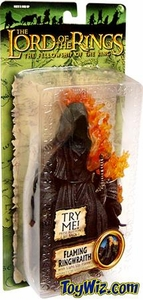 Lord Of The Rings Fellowship Of The Ring Collectors Series Action Figure Flaming Ringwraith