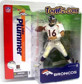McFarlane Toys NFL Sports Picks Series 9 Action Figure Jake Plummer (Denver Broncos) White Jersey Variant