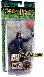 Lord of the Rings Fellowship of the Ring Collectors Series Action Figure Weathertop Strider BLOWOUT SALE!