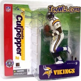 McFarlane Toys NFL Sports Picks Series 9 Action Figure Daunte Culpepper (Minnesota Vikings) White Jersey Variant