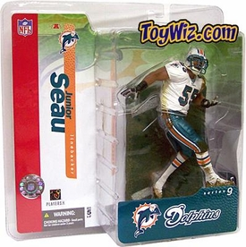 McFarlane Toys NFL Sports Picks Series 9 Action Figure Junior Seau (Miami Dolphins) Chase Piece