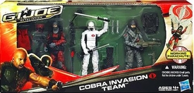 GI Joe Retaliation Movie Action Figure 3-Pack Cobra Invasion Team [Firefly, Cobra Invasion Trooper & Storm Shadow]