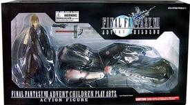 Final Fantasy VII Movie Advent Children Action Figure Cloud on Fenrir