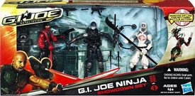 GI Joe Retaliation Movie Action Figure 3-Pack Ninja Showdown Snake Eyes, Storm Shadow & Red Ninja