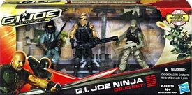 GI Joe Retaliation Movie Action Figure 3-Pack Ninja Dojo [Beachhead, Night Ops Road Block & Kamakura]