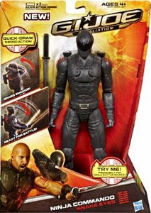 GI Joe Retaliation Movie 10 Inch Action Figure Ninja Commando Snake Eyes