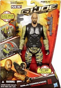 GI Joe Retaliation Movie 10 Inch Action Figure Ninja Commando Roadblock [The Rock!]