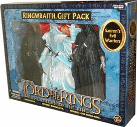 Lord of the Rings Return Of The King Action Figure 3-Pack Saurons Evil Warriors [Ringwraith, Twilight Ringwraith & Morgul Lord Witch-King]