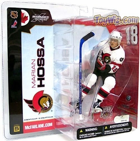 McFarlane Toys NHL Sports Picks Series 5 Action Figure Marian Hossa (Ottawa Senators) White Jersey
