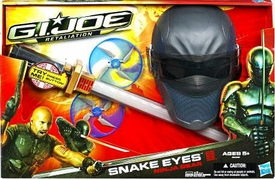 GI Joe Retaliation Movie Roleplay Toy Snake Eyes Ninja Gear