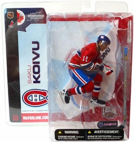 McFarlane Toys NHL Sports Picks Series 5 Action Figure Saku Koivu (Montreal Canadiens)