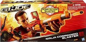 GI Joe Retaliation Movie Roleplay Toy Ninja Commando Blaster