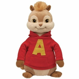 Ty Alvin & The Chipmunks Beanie Buddy Alvin