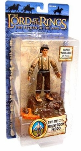 Lord Of The Rings Return of the King Collectors Series Action Figure Mount Doom Frodo BLOWOUT SALE!