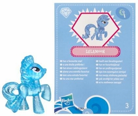 My Little Pony Friendship is Magic 2 Inch PVC Figure Series 3 Glitter Trixie Lulamoon [Blue Card]