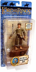 Lord Of The Rings Return of the King Collectors Series Action Figure Mount Doom Sam