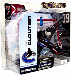 McFarlane Toys NHL Sports Picks Series 5 Action Figure Dan Cloutier (Vancouver Canucks) Blue Jersey