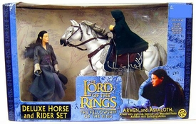 Lord of the Rings The Fellowship of The Ring Deluxe Horse & Rider Set Arwen & Asfaloth