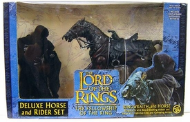 Lord of the Rings The Fellowship of The Ring Deluxe Horse & Rider Set Ringwraith & Horse