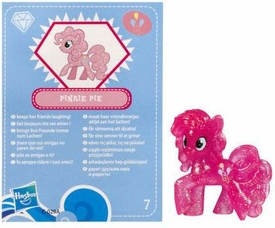 My Little Pony Friendship is Magic 2 Inch PVC Figure Series 3 Glitter Pinkie Pie [Blue Card]