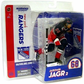 McFarlane Toys NHL Sports Picks Series 10 Action Figure Jaromir Jagr (New York Rangers)  Blue Jersey