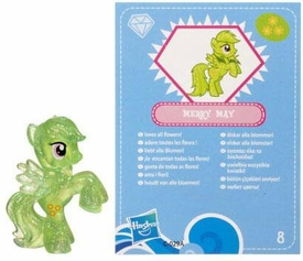 My Little Pony Friendship is Magic 2 Inch PVC Figure Series 3 Glitter Merry May [Blue Card]