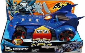 Batman Power Attack Vehicle Total Destruction Batmobile