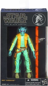Star Wars Black 6 Inch Series 2 Action Figure Greedo [Episode IV]