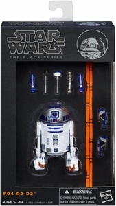 Star Wars Black 6 Inch Series 1 Action Figure R2-D2