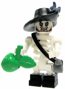 LEGO Pirates of the Caribbean LOOSE Mini Figure Cursed Hector Barbossa [Cutlass & Apple]