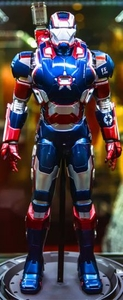 Iron Man 3 Play Imaginative Super Alloy 1/4 Scale Collectible Figure Iron Patriot (Coming Soon)
