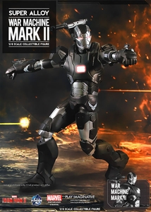 Iron Man 3 Play Imaginative Super Alloy 1/4 Scale Collectible Figure War Machine Pre-Order ships January
