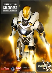 Iron Man 3 Play Imaginative Super Alloy 1/4 Scale Collectible Figure Iron Man Gemini Pre-Order ships August