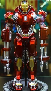 Iron Man 3 Play Imaginative Super Alloy 1/4 Scale Collectible Figure Iron Man Red Snapper (Coming Soon)