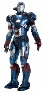 Iron Man 3 Play Imaginative Super Alloy 1/12 Scale Collectible Figure Iron Patriot Pre-Order ships March