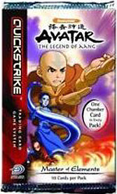 Avatar the Last Airbender Trading Card Game Master of Elements Booster Pack