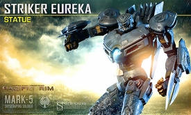 Pacific Rim Sideshow Collectibles Polystone Statue Striker Eureka Pre-Order ships April
