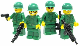 LEGO Military LOOSE Custom ONE RANDOM MiniFigure Revolutionary