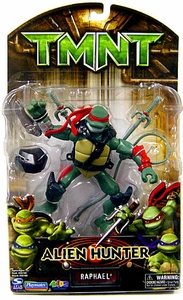 Teenage Mutant Ninja Turtles TMNT Alien Hunter Action Figure Raphael