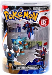 Pokemon TOMY Basic Figure 2-Pack Golurk & Hydreigon