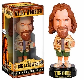 Funko Big Lebowski Talking Wacky Wobbler Bobble Head Dude New!