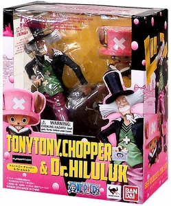 One Piece Figuarts ZERO Statue Chopper & Dr Hiluluk