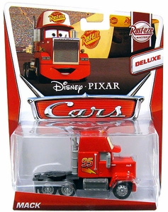 Disney / Pixar CARS Movie 1:55 Die Cast Car Deluxe Mack [Rust-Eze Racing 2/8]