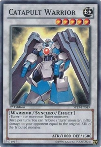 YuGiOh Star Pack 2013 Single Card SP13-EN049 Catapult Warrior